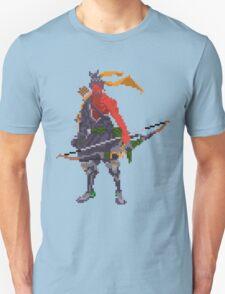 Red Hanzo Pixel Unisex T-Shirt