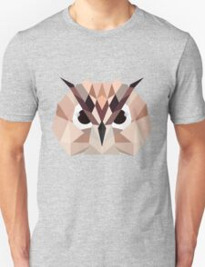 Colorful Owl Unisex T-Shirt