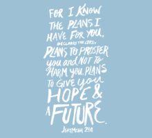 Jeremiah 29: 11 x Mint Kids Tee