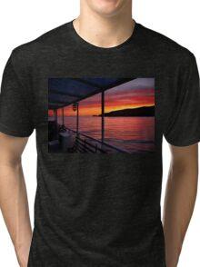 "Sunrise on board of F/B ""Aiolis"" Tri-blend T-Shirt"