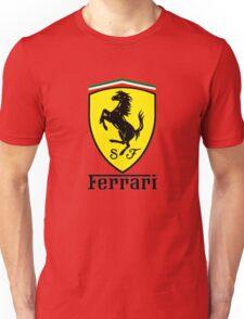 ferrari best logo Unisex T-Shirt