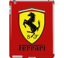 ferrari best logo iPad Case/Skin
