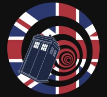TARDIS Union Jack by Moovian