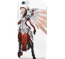 Dark Red Mercy pixel iPhone Case/Skin