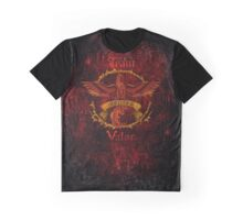 Valor Team Red Pokeball flag emblem Graphic T-Shirt