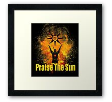 Praise The Sun Art Framed Print