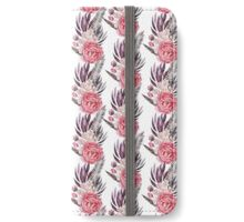 Peony Bloom Collection- Pattern 8 iPhone Wallet/Case/Skin
