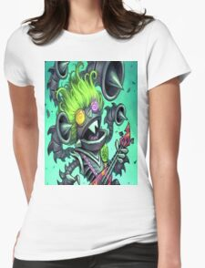Psych-o-Tron Womens Fitted T-Shirt