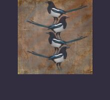 Magpies stacked Unisex T-Shirt