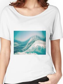 Blue mountains Women's Relaxed Fit T-Shirt