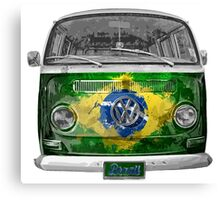 VW BRAZIL Canvas Print