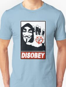 DISOBEY (Anonymous) Unisex T-Shirt