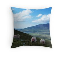 3 Sheeps To The Wind Throw Pillow