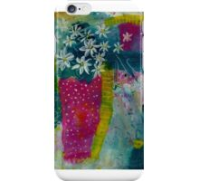 Daisies in pink vase iPhone Case/Skin