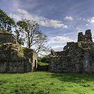 Pendragon Castle, Cumbria by Tom Gomez