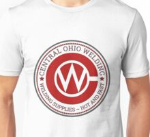 Central Ohio Welding - Supplies Served Up Hot and Fast Unisex T-Shirt