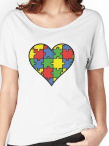 Autism Awareness Heart Women's Relaxed Fit T-Shirt