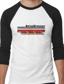 Land Cruiser body art series, four wheel drive turbo Men's Baseball ¾ T-Shirt