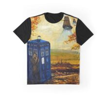 Dr Who painting Graphic T-Shirt