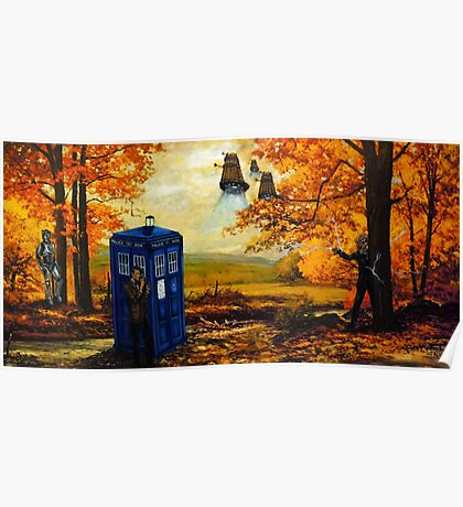 Dr Who painting Poster