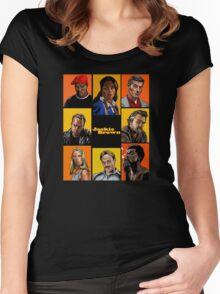 -TARANTINO- Jackie Brown Cartoon Women's Fitted Scoop T-Shirt