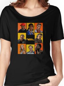 -TARANTINO- Jackie Brown Cartoon Women's Relaxed Fit T-Shirt