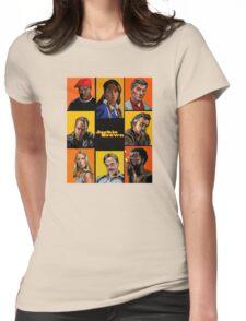 -TARANTINO- Jackie Brown Cartoon Womens Fitted T-Shirt