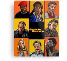 -TARANTINO- Jackie Brown Cartoon Metal Print