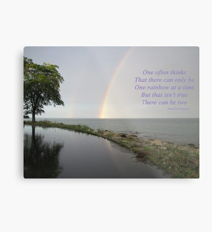 A Song of Rainbows Metal Print