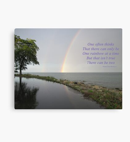 A Song of Rainbows Canvas Print