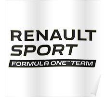 RENAULT SPORT F1 Poster