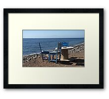 Take a Seat! Framed Print