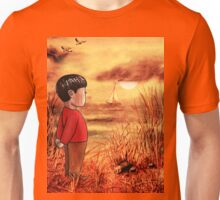 Boy And The Ocean Unisex T-Shirt