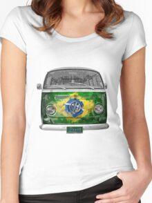 VW BRAZIL Women's Fitted Scoop T-Shirt