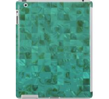 Seafoam Green Blue Mother of Pearl Tiles iPad Case/Skin
