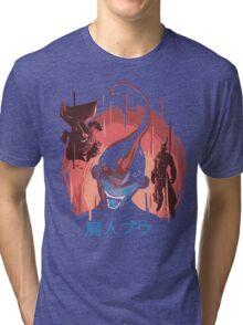 Evil- lotion Tri-blend T-Shirt