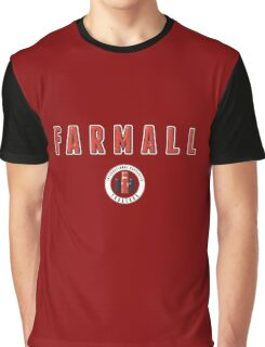 Farmall vintage Tractors USA Graphic T-Shirt