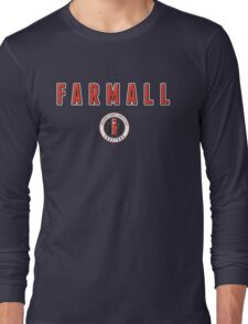 Farmall vintage Tractors USA Long Sleeve T-Shirt