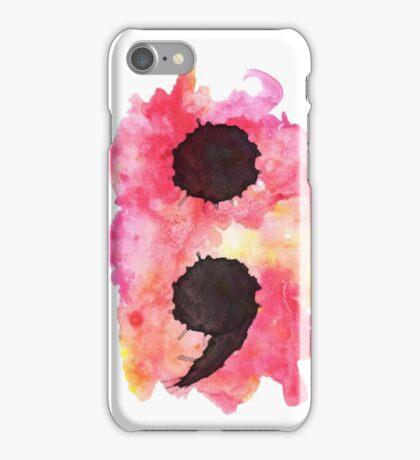 Project Semi Colon iPhone Case/Skin