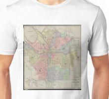 Vintage Map of Syracuse New York (1920) Unisex T-Shirt
