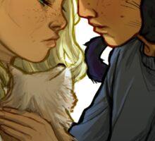 Will and Lyra Sticker