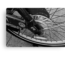 Rideshare bicycle Metal Print