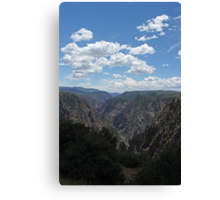 Black Canyon of the Gunnison 2 Canvas Print