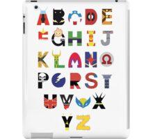 Super Hero Alphabet iPad Case/Skin