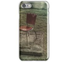 Red chair iPhone Case/Skin