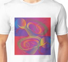 Abstract Formline Multicolor 2 Unisex T-Shirt