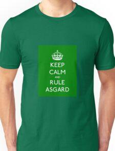 Keep calm and rule Asgard Unisex T-Shirt