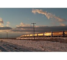 The Magnificent Shining Freight Train #4 Photographic Print