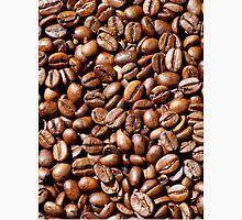 Meer aus Kaffeebohnen als Hintergrundbild Unisex T-Shirt