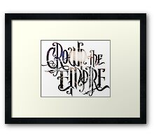"Crown The Empire ""The Resistance: Rise of the Runaways"" Logo Framed Print"